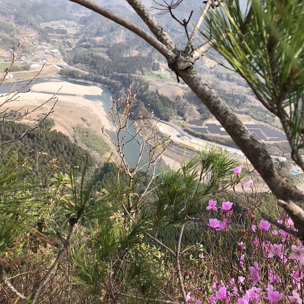 冠山からの風景